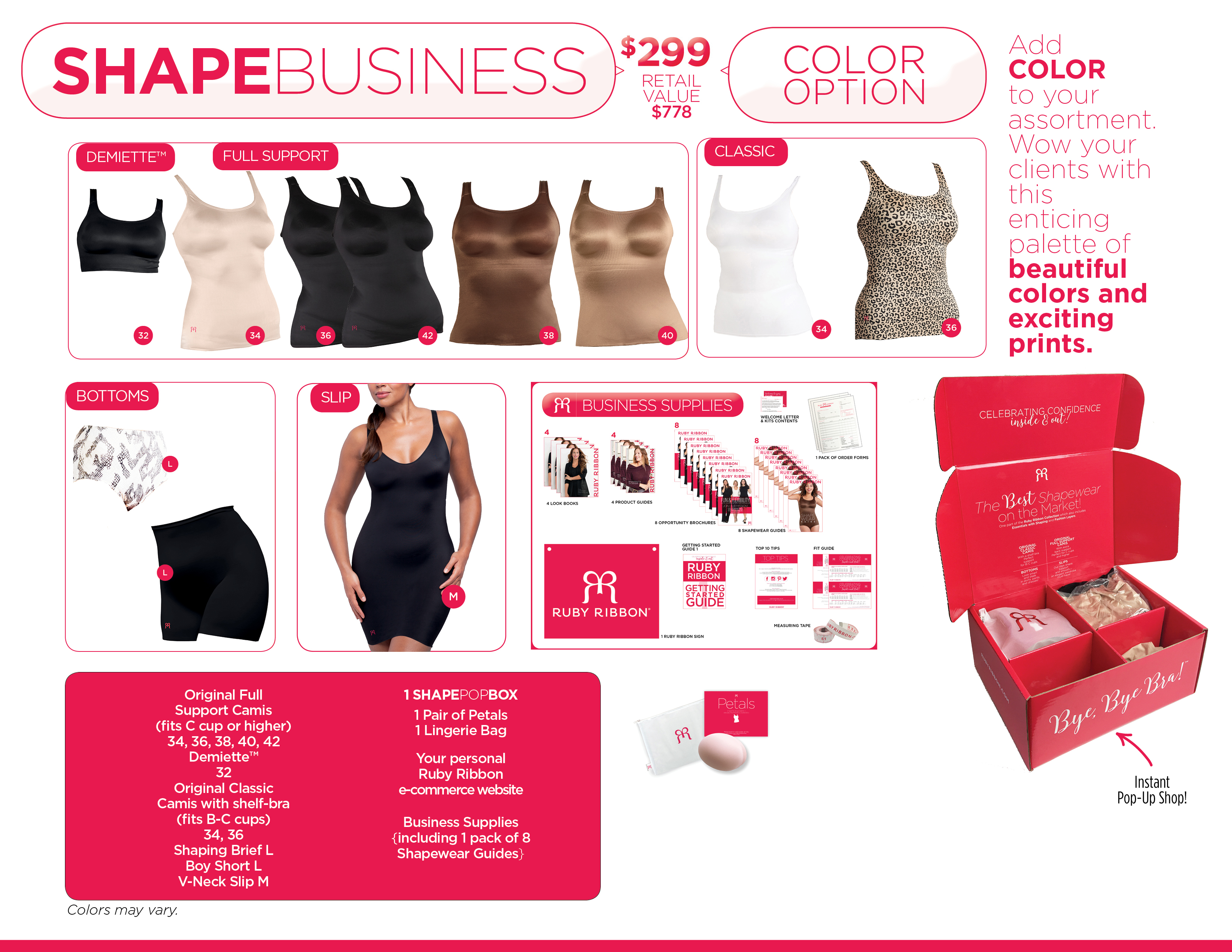 Shape Business Color Option